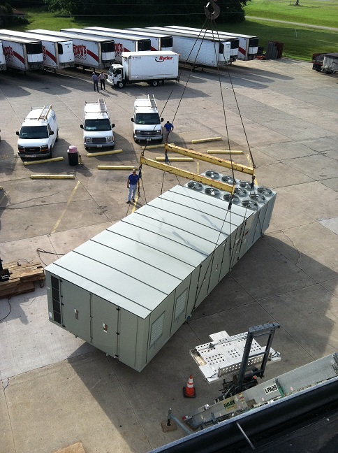 Advanced Heating Cooling 1 130 ton Bakery unit.JPG