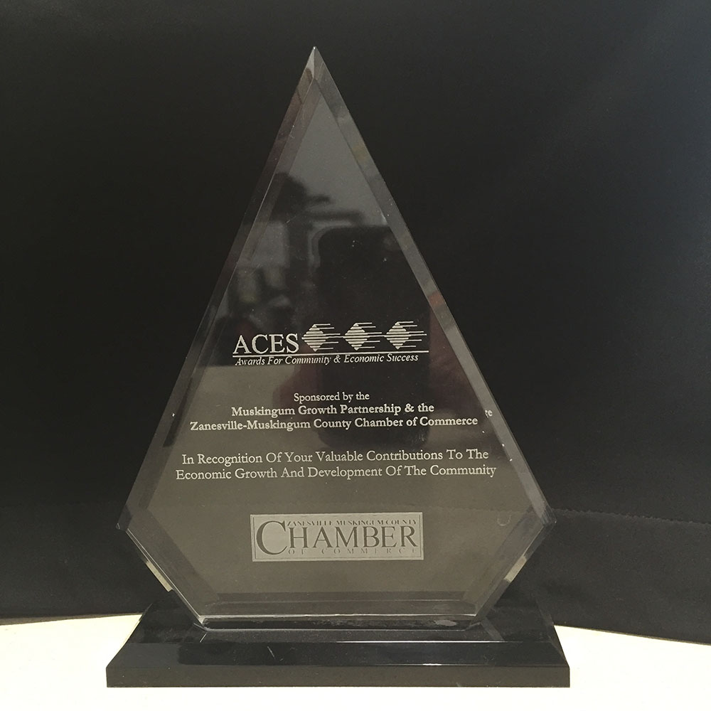 Advanced Heating Cooling Zanesville Ohio ACES Award.JPG